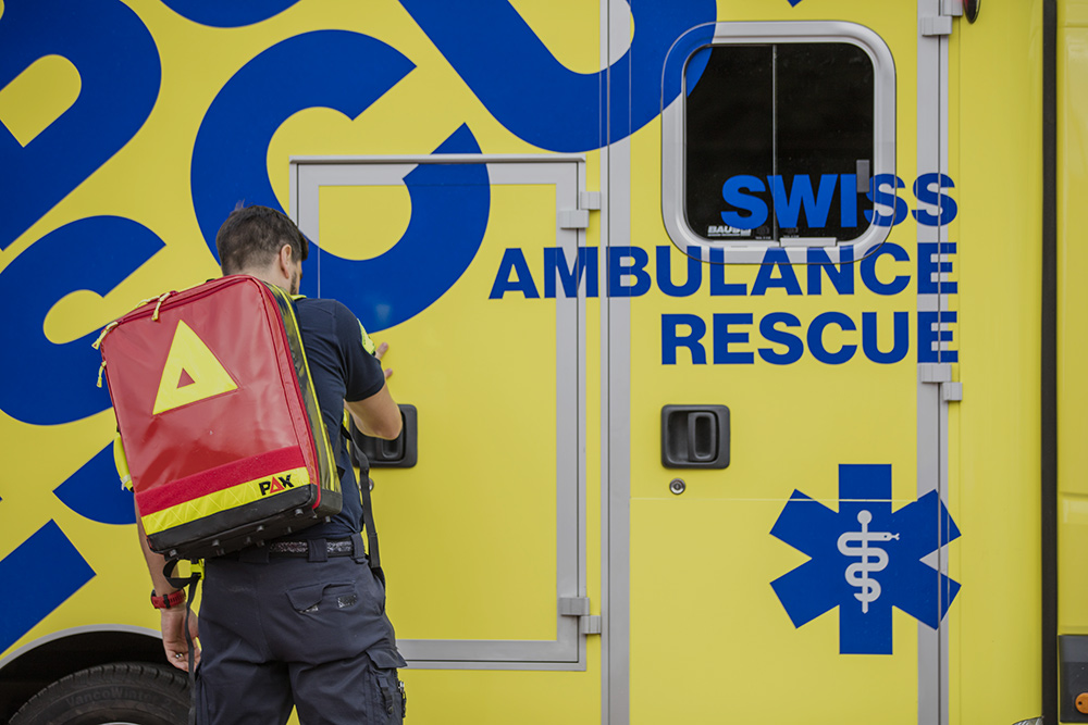 The Cross Or The Star Of Life Swiss Ambulance Rescue